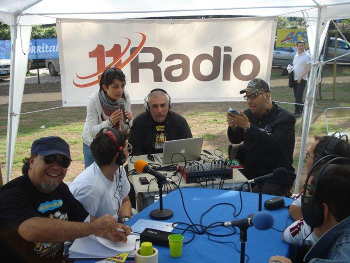 Postazione mobile di 11Radio