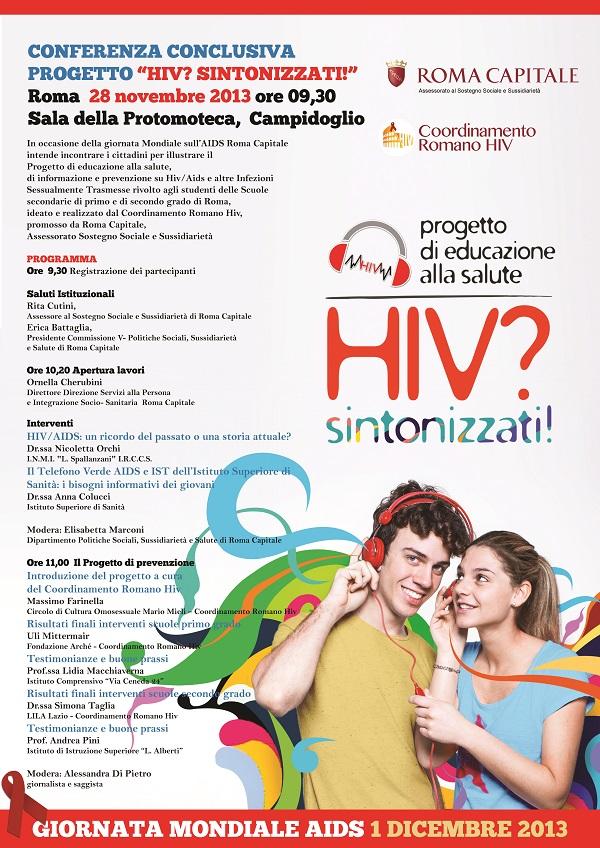 LOCANDINA HIV SINTONIZZATI