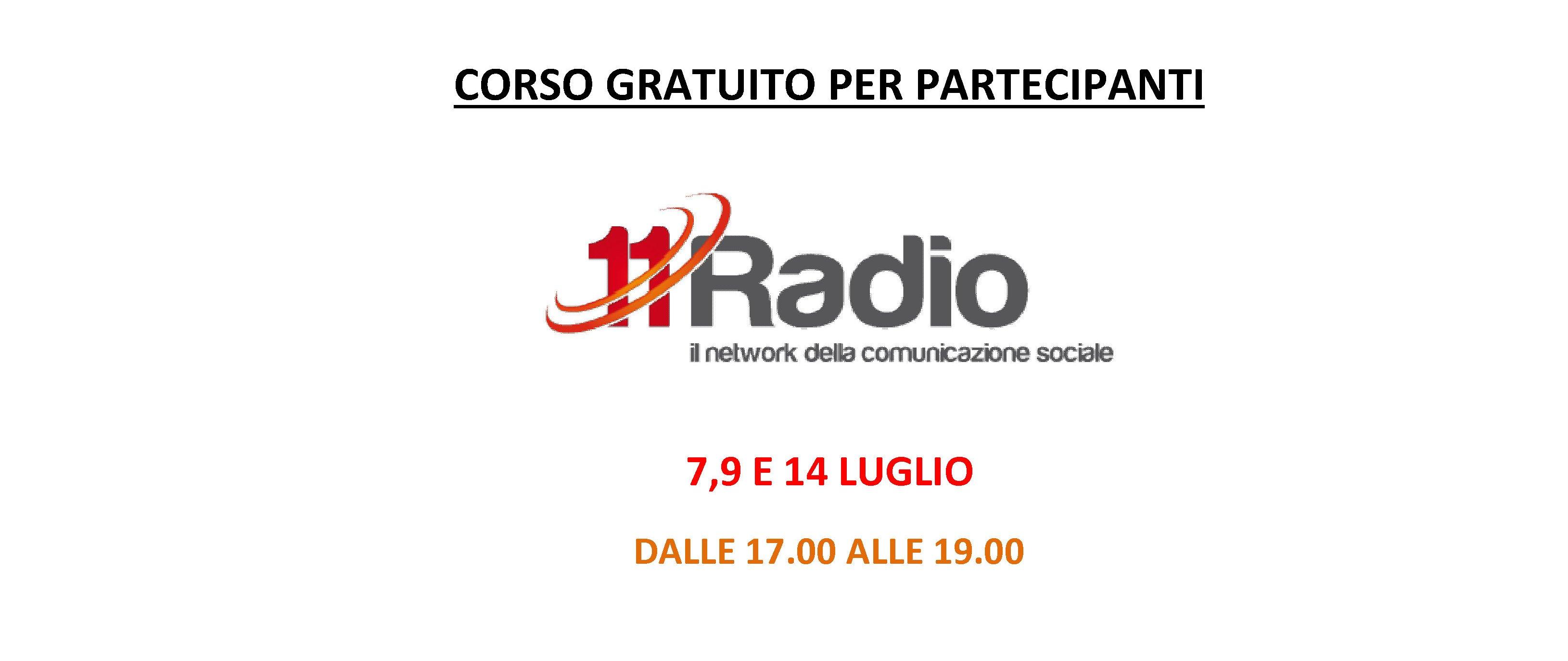 Corso Partecipanti 11Radio2