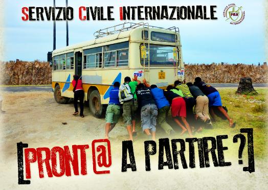 volantino servizio civile internazionale